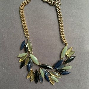 Blue Costume Jewelry Necklace